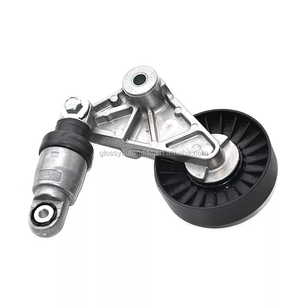 hight resolution of glossy timing belt tensioner pulley opel 9180809