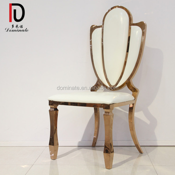 steel chair gold plywood lounge and ottoman dreamy banquet furniture event rose metal wedding stainless