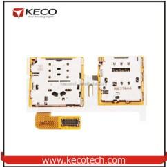 Sim Card Reader Circuit Diagram 5 Pin Cdi Box Wiring Slot Holder For Samsung Galaxy Tab S2 8 0 T710 Sm