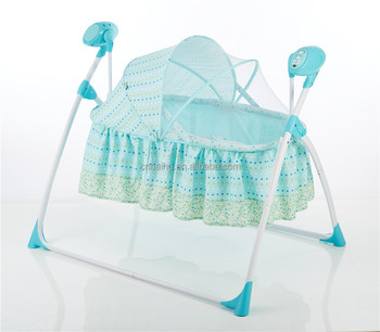 Electric Baby Swing Bassinet Baby Cradle With Timer And