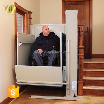 old people chair lift wide recliner uk 7lsjw shandong sevenlift used handicap stair wheel vertical for