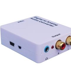 get quotations weley digital to analog audio converter with phone jack convert coaxial or toslink digital audio [ 1500 x 1022 Pixel ]