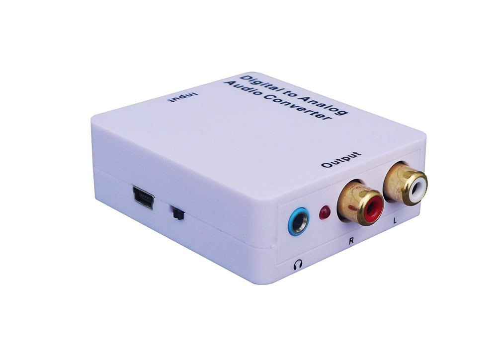 medium resolution of get quotations weley digital to analog audio converter with phone jack convert coaxial or toslink digital audio