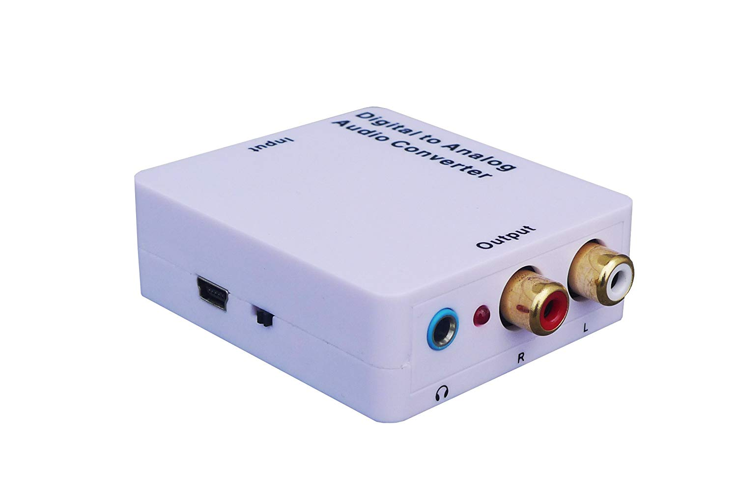 hight resolution of get quotations weley digital to analog audio converter with phone jack convert coaxial or toslink digital audio