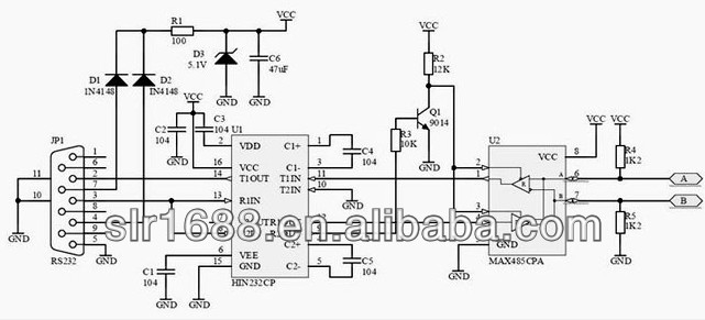 10p10c Plug Wiring Diagram High Quality Ftdi Usb Rs232 Cable Rs232 To Rs485 Converter