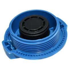 car engine coolant tank cap reservoir overflow cover for audi a4 a6 s6 8e0121321 [ 1000 x 1000 Pixel ]