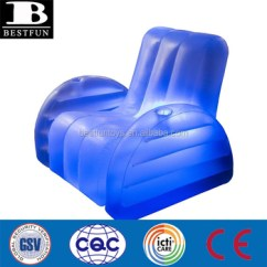 Blow Up Beach Chair Table And Rental Austin High Strength Pvc Inflatable Led Arm Durable Plastic Light Single Sofa