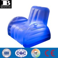 High Strength Pvc Inflatable Blow Up Led Arm Chair Durable ...