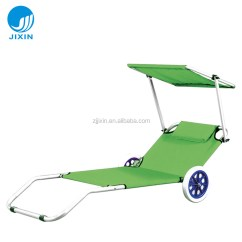 Beach Chair With Wheels Modern Arm Chairs Uk Sunshade Folding Buy Product
