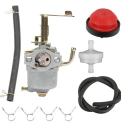 get quotations hilom carburetor with fuel filter line primer bulb for toro power clear 180 toro 38587 38272 [ 1000 x 1000 Pixel ]