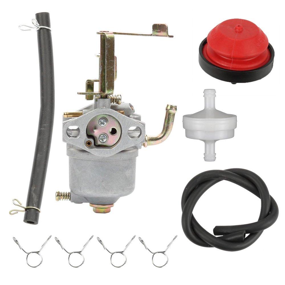 medium resolution of get quotations hilom carburetor with fuel filter line primer bulb for toro power clear 180 toro 38587 38272