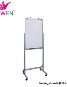 Double side flip chart stand dry erase board magnetic whiteboard with wheels for office also rh alibaba