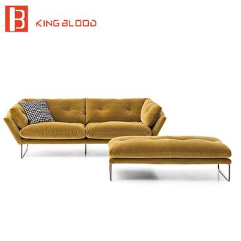 chesterfield sofa material wayfair clearance lazy boy cheap style cotton velvet fabric sectional set