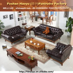 Wood Frame Leather Sofas Black And White Sofa Loveseat Supply Wooden Violino Chesterfield With Real