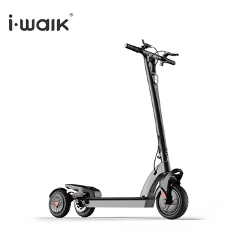 Electric Stand Up 3 Wheels Wings Robot Kick Scooter Adult