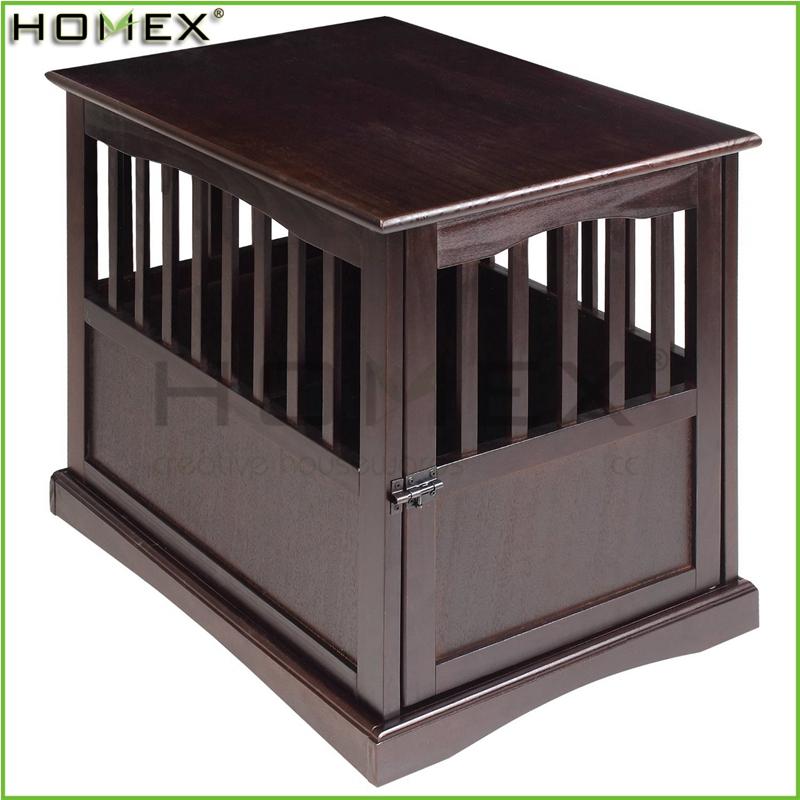 table d extremite en bois de caisse de chien chien meubles homex bsci usine buy caisse de chien meubles pour animaux de compagnie maison de chien product