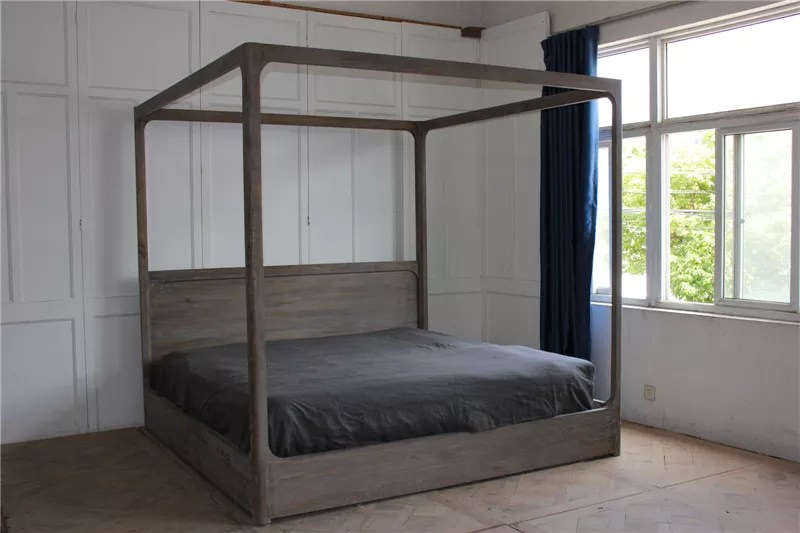 cheap low height canopy french folding frame four poster bed furniture wood double bed buy double bed wood four poster bed folding beds product on