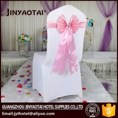 How To Make Chair Sashes Toilet Desk In China Stain Spandex Nylon Cheap Pre Tied Buy
