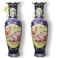 Special Chinese Ceramic Large Floor Standing Vases For ...