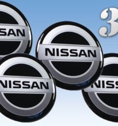 get quotations wheel stickers nissan imitation all size centre cap logo badge wheel trims 3d 53mm  [ 1194 x 788 Pixel ]
