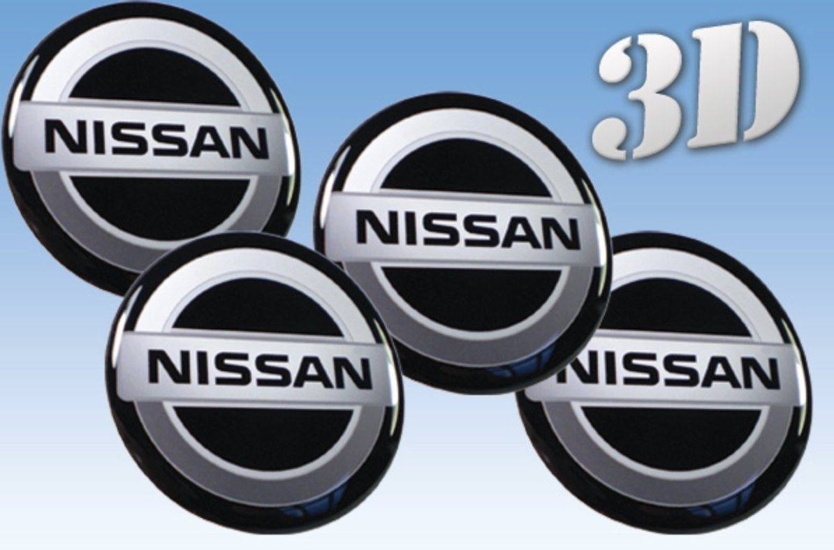 hight resolution of get quotations wheel stickers nissan imitation all size centre cap logo badge wheel trims 3d 53mm