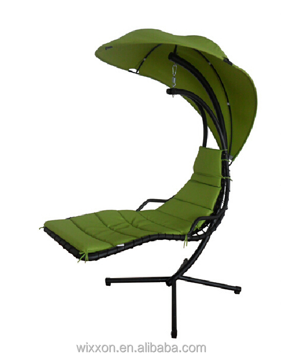 outdoor swing chair with stand beach towel clips metal helicopter canopy hanging buy swingasan product on alibaba com