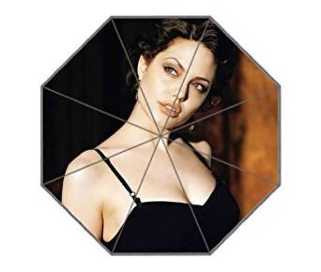Get Quotations  C2 B7 Sweet Life Angelina Jolie Hot Film Fashionable Foldable Travel Rain Sun Anti Uv Rainproof