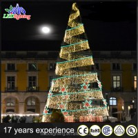 Large Outdoor Waterproof Led Spiral Party Decoration ...