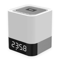 Touch Led Lamp Alarm Clock Bluetooth Speaker - Buy Touch ...