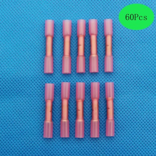 small resolution of get quotations raogoodcx 60pcs heat shrink connectors 22 16 awg insulated heat shrink waterproof marine automotive