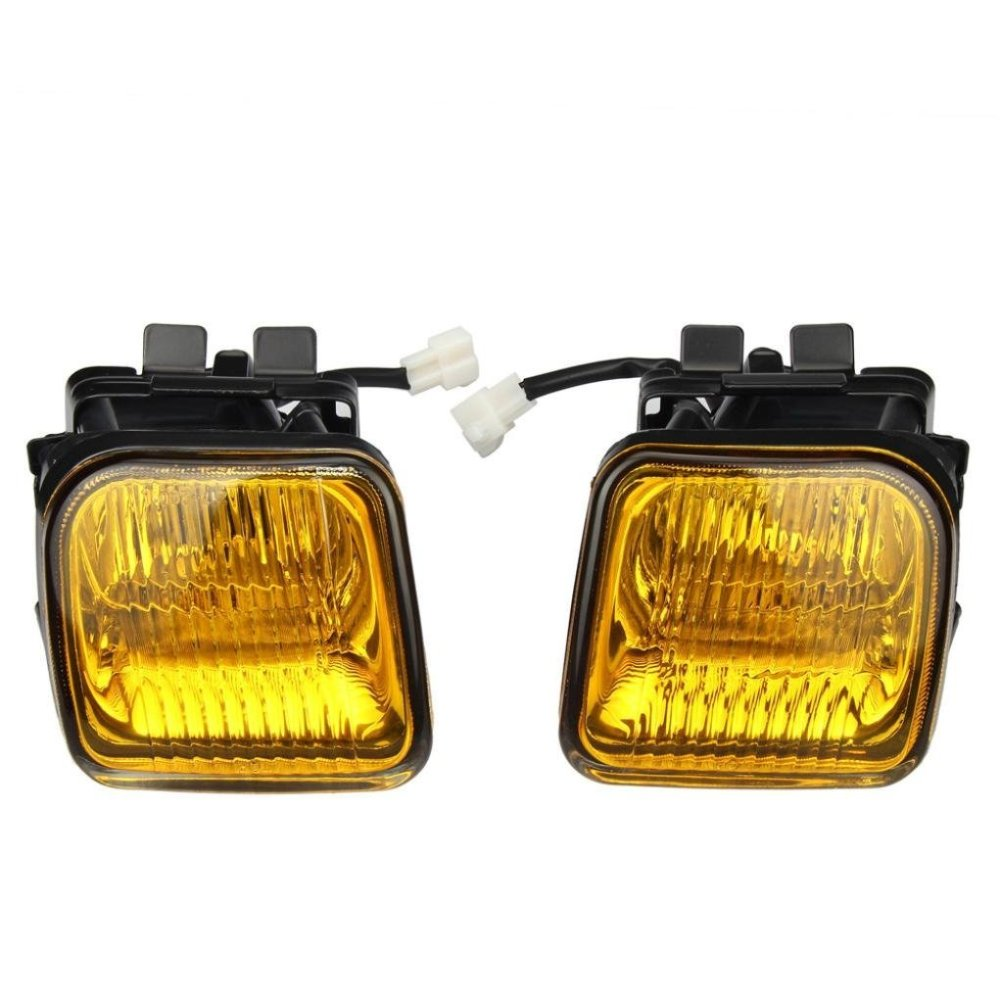 medium resolution of get quotations fog lights dzt1968 for 1996 1998 honda civic ek jdm yellow fog lights front bumper