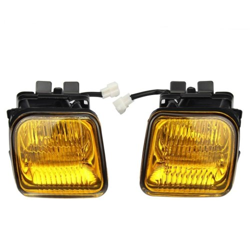 small resolution of get quotations fog lights dzt1968 for 1996 1998 honda civic ek jdm yellow fog lights front bumper