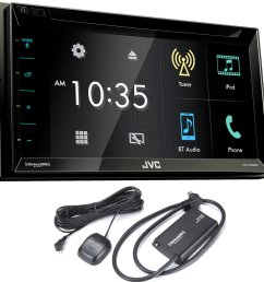 get quotations jvc kw v330bt 6 8 double din bluetooth in dash dvd cheap jvc car stereo  [ 1000 x 1000 Pixel ]