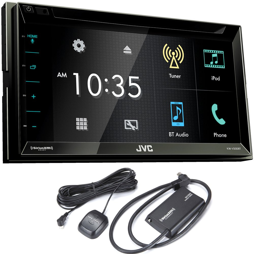 hight resolution of get quotations jvc kw v330bt 6 8 double din bluetooth in dash dvd cheap jvc car stereo