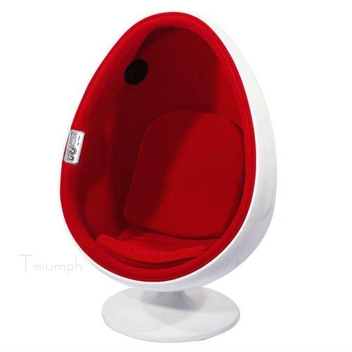 Egg Stuhl Mit Lautsprecher Ei Stuhlfreizeit Stuhl Wohnzimmer Sessel