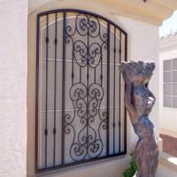 2017 Iron Window Grill Design Burglar Proof Window With ...