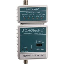 get quotations gowos sohotest e network phone tv cable tester tests cat5e cat6 [ 1000 x 1000 Pixel ]