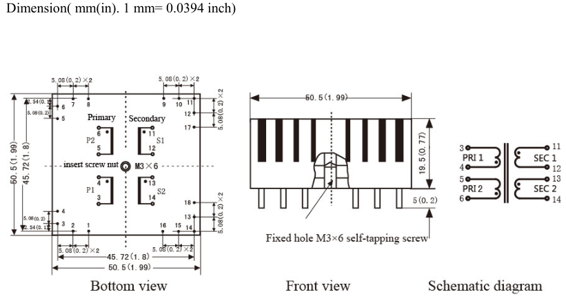 Toroidal Transformer Ac 110v 115v 120v To 7v 9v 12v 15v