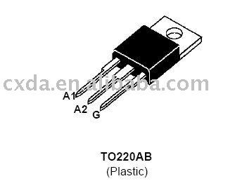 BTA16-600B ST IC CHIP de Circuitos integrados-Circuitos