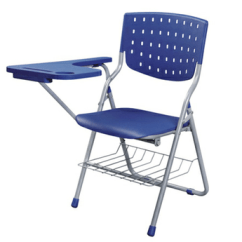 Folding Chair Legs Restaurant Style High Plastic Stackable Student With Metal And Writing Pad For Classroom Or Lecture Hall Buy