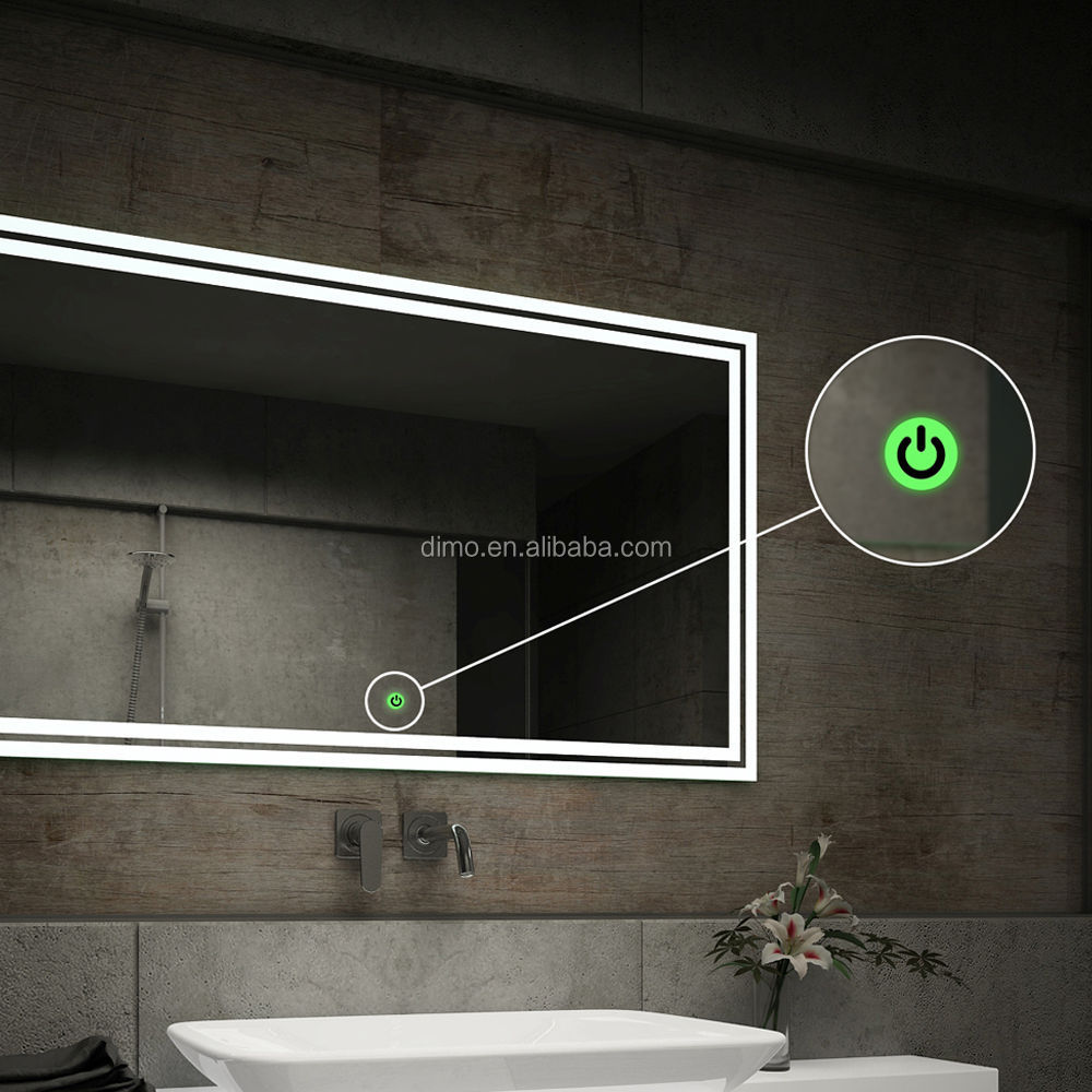 New Fashion Led Bluetooth Bathroom Smart Touch Screen
