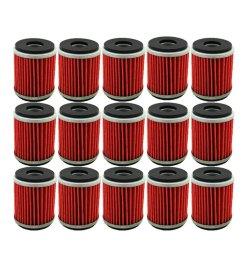 tc motor 15pcs pack fuel filters oil filter for yamaha atv quad 4 wheeler [ 1001 x 1001 Pixel ]