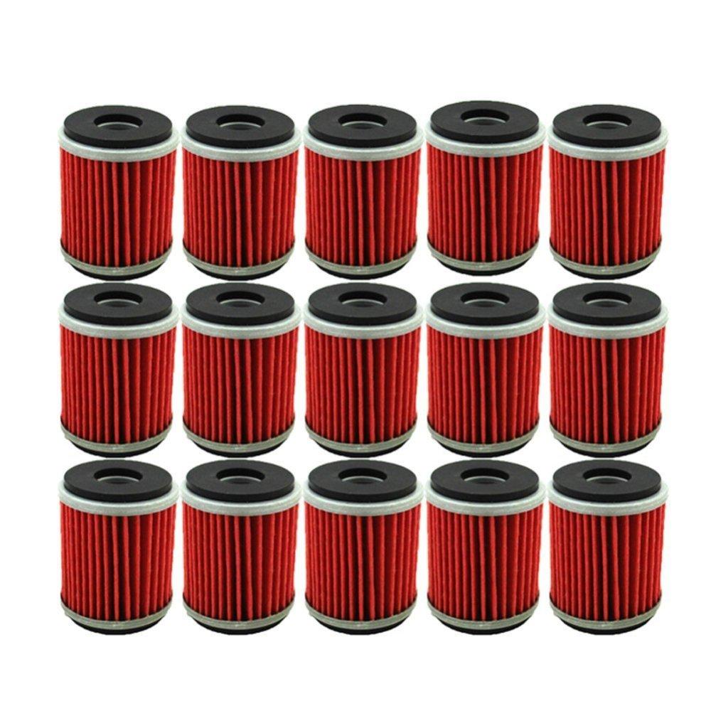 medium resolution of tc motor 15pcs pack fuel filters oil filter for yamaha atv quad 4 wheeler