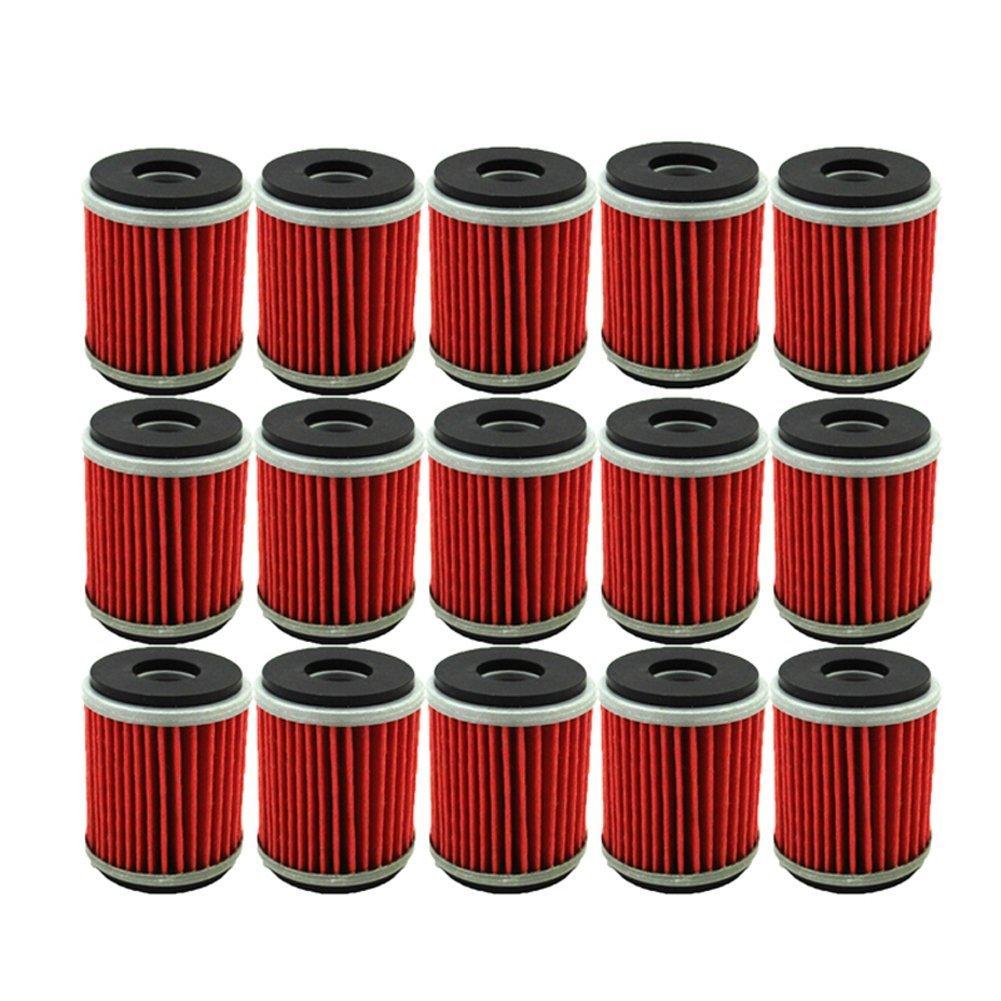 hight resolution of tc motor 15pcs pack fuel filters oil filter for yamaha atv quad 4 wheeler