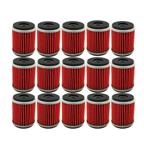 small resolution of tc motor 15pcs pack fuel filters oil filter for yamaha atv quad 4 wheeler