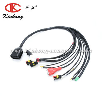 Custom Waterproof Automotive Wiring Harness For Motorcycle