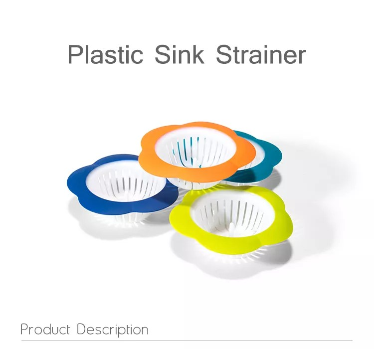 factory directly flower shape plastic bathroom kitchen sink basket drain strainer buy kitchen plastic sink strainer sink basket strainer sink drain