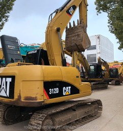 good quality used cat excavator 312d for sale cat excavator with low price [ 1024 x 800 Pixel ]