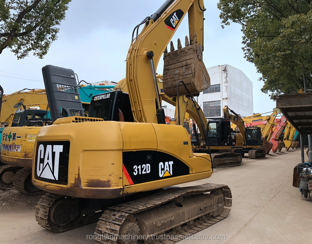 hight resolution of good quality used cat excavator 312d for sale cat excavator with low price