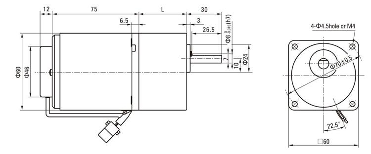 Custom 6w 10w 750rpm Ac Speed Governing Single Phase 220v